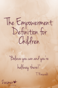 The empowerment definition
