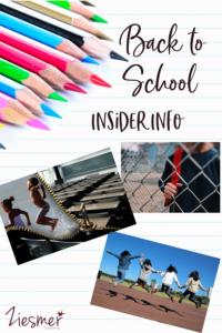 Back to school insider info