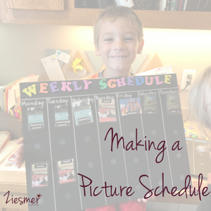 Making a Picture schedule