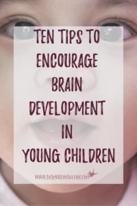 Ten Tips To Encourage Brain Development in Young Children